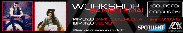 Camillo Lauricella Mecnun LAX STUDIO Paris Danse Workshop