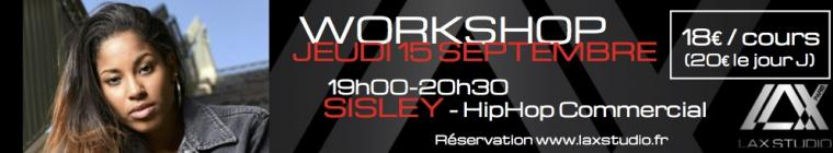 sisley workshop lax studio paris france studio ecole school dance danse hiphop cours class