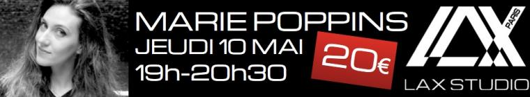 marie poppins popping workshop paris france lax studio danse dance ecole school class cours hiphop