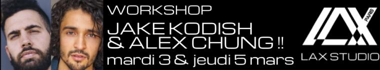 jake kodish alex chung alexander chung hiphop workshop stage dance danse paris france ecole school class cours hiphop hip hop contemporain
