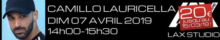 camillo lauricella workshop stage LAX STUDIO PARIS COURS CLASS ECOLE SCHOOL DANSE DANCE FRANCE