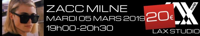 zacc milne workshop stage LAX STUDIO PARIS COURS CLASS ECOLE SCHOOL DANSE DANCE FRANCE