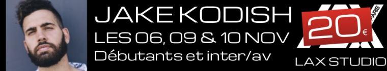 jake kodish workshop masterclass master class stage hip hop LAX STUDIO PARIS COURS CLASS ECOLE SCHOOL DANSE DANCE FRANCE paris