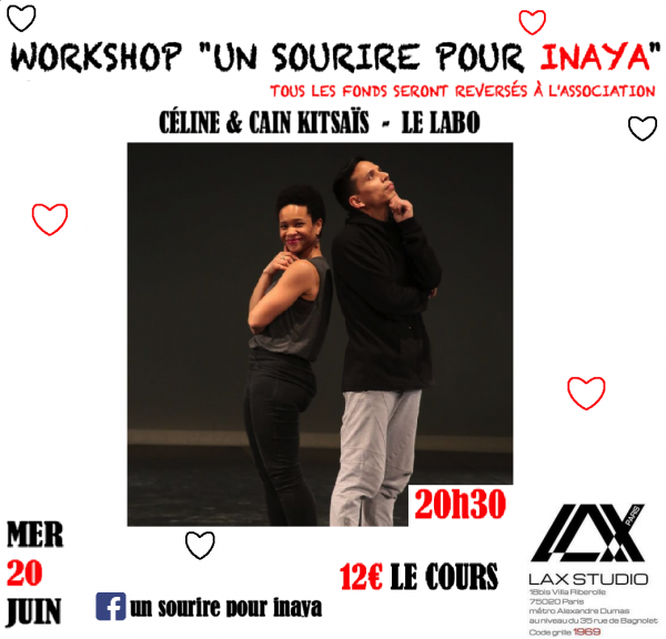 celine kitsais rotsen cain workshop stage danse dance cours class paris france lax studio ecole school