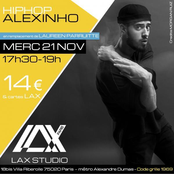 alexinho hiphop la style ecole school paris lax studio cours class hip hop danse