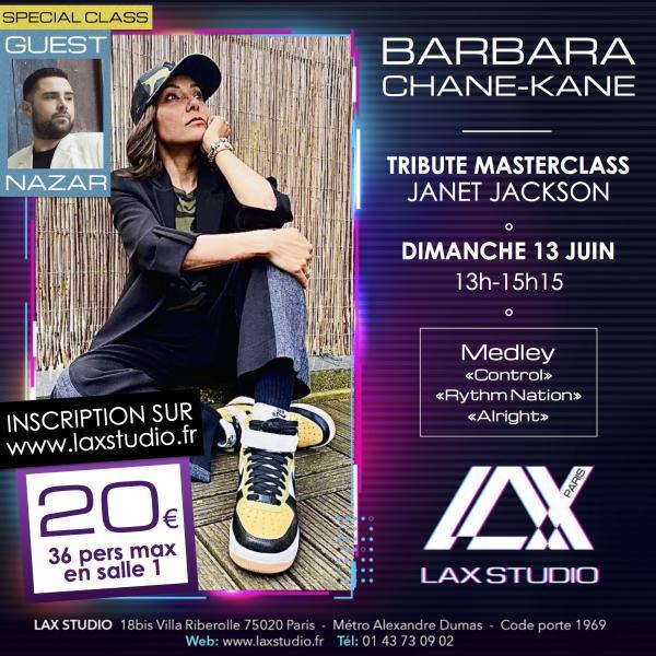 barbara chane kane nazar cours class paris lax studio france cours class danse dance hip hop street jazz