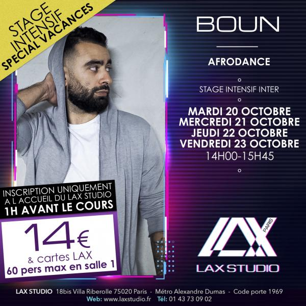 boun afrobeatz cours class paris lax studio france cours class danse dance hip hop street jazz