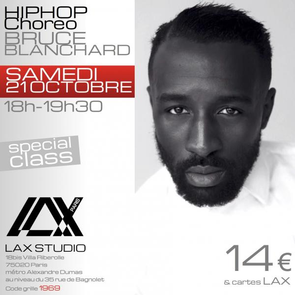 bruce blanchard hiphop LAX STUDIO ECOLE SCHOOL DANSE DANCE PARIS FRANCE COURS CLASS HIPHOP