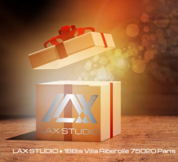 carte cadeau danse dance gift LAX STUDIO ecole school cours class hip hop paris france