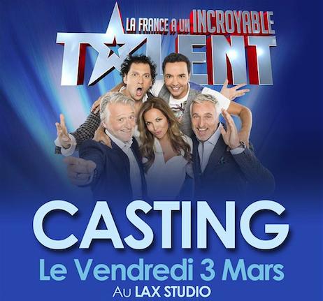 incroyable talent casting audition paris france lax studio ecole school cours class hiphop dance danse hip hop dancehall