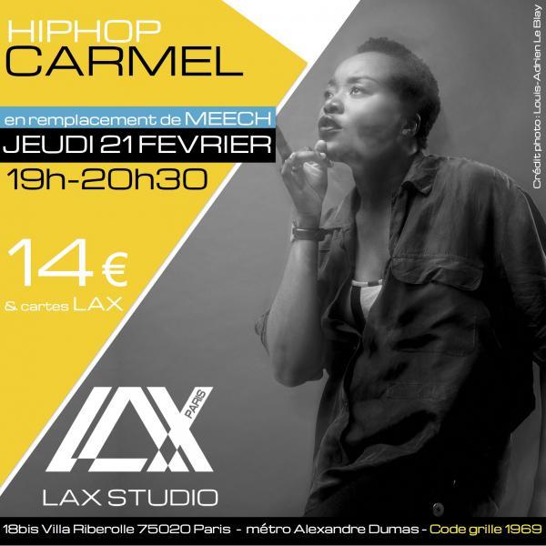 carmel sales momes paris france lax studio ecole school cours class hiphop dance danse hip hop