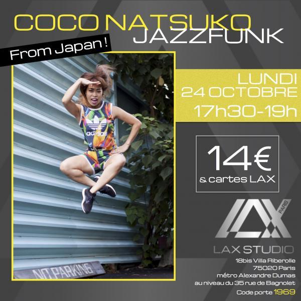 coco natsuko workshop stage danse dance cours class paris france lax studio ecole school