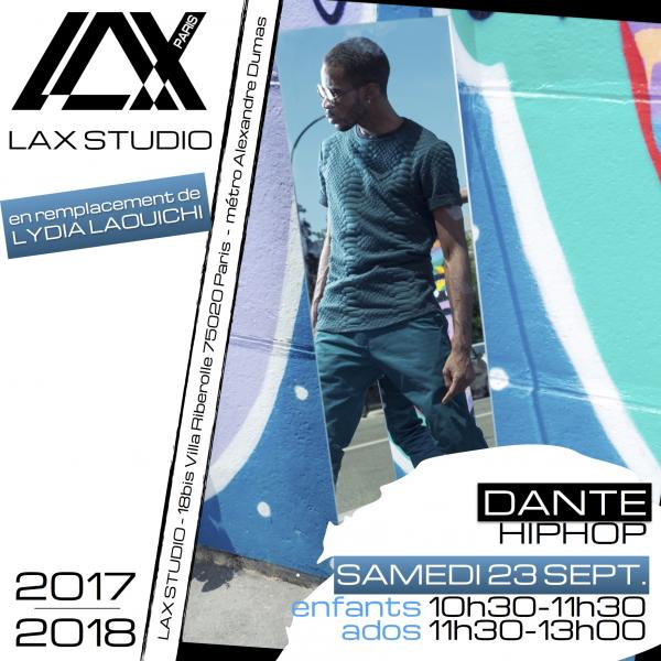 enfants ados dante cours class paris lax studio france cours class danse dance hip hop street jazz