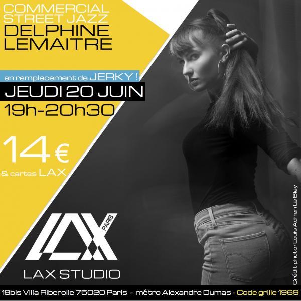delphine lemaitre quentin cerini ecole school paris lax studio cours class hip hop danse
