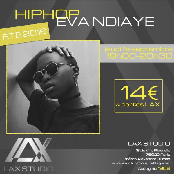eva ndiaye cours class paris lax studio france cours class danse dance hip hop street jazz