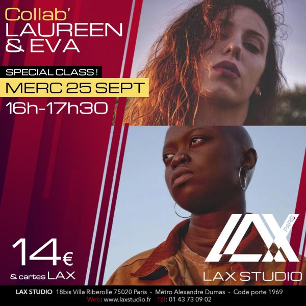 eva ndiaye laureen parruitte hiphop la style ecole school paris lax studio cours class hip hop danse
