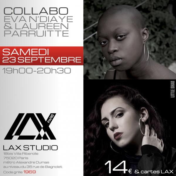 eva ndiaye cours laureen parruitte class paris lax studio france cours class danse dance hip hop street jazz