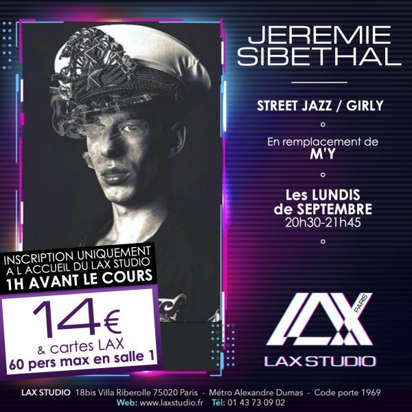 jeremie sibethal LAX STUDIO ECOLE SCHOOL DANSE DANCE PARIS FRANCE COURS CLASS HIPHOP