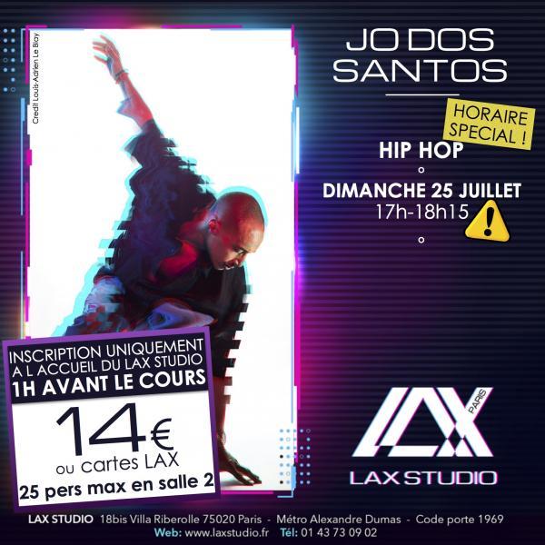 jo dos santos hiphop hip hop LAX STUDIO ECOLE SCHOOL DANSE DANCE PARIS FRANCE COURS CLASS HIPHOP