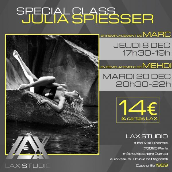 julia spiesser ecole school paris lax studio cours class hip hop danse