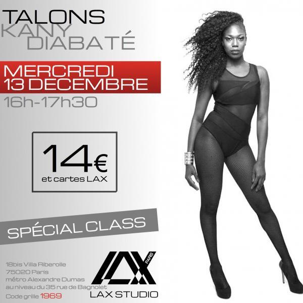 kany diabate talons heels paris france lax studio ecole school cours class hiphop dance danse hip hop dancehall