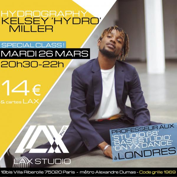 kelsey miller paris france lax studio ecole school cours class hiphop dance danse hip hop