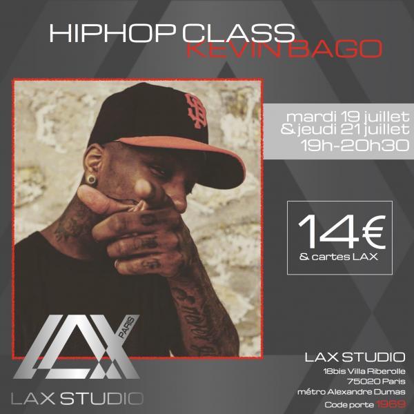 kevin bago paris france lax studio ecole school cours class hiphop dance danse hip hop