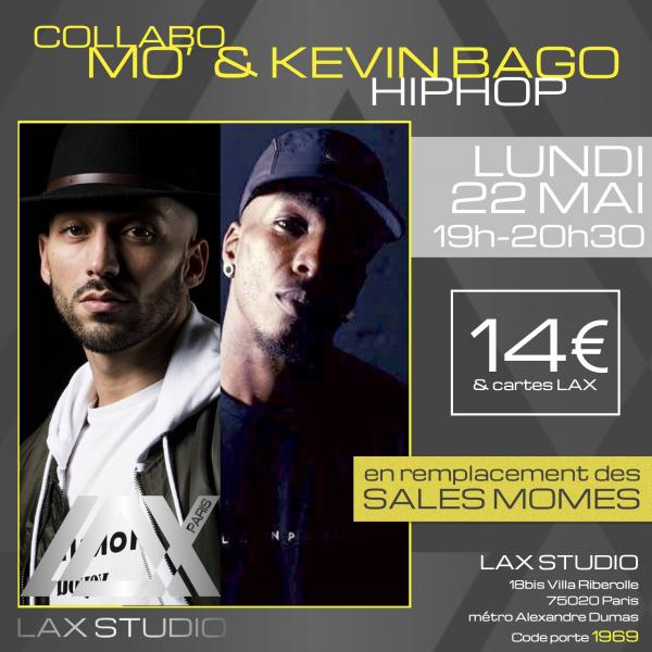 mo kevin bago class cours hiphop danse dance paris france lax studio ecole school jo dos santos