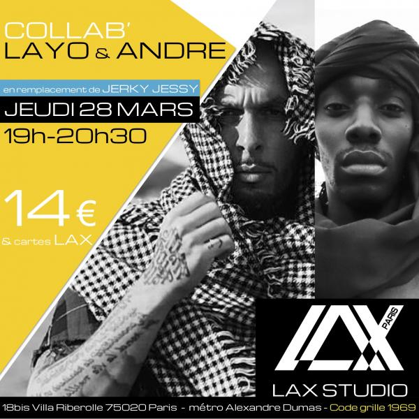 layo andre antagana LAX STUDIO ECOLE SCHOOL DANSE DANCE PARIS FRANCE COURS CLASS HIPHOP