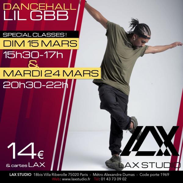 lil gbb arnaud dancehall LAX STUDIO ECOLE SCHOOL DANSE DANCE PARIS FRANCE COURS CLASS HIPHOP