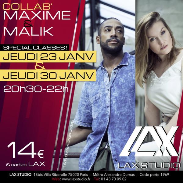 malik le nost maxime trouiller street jazz cours class paris lax studio laxstudio ecole school