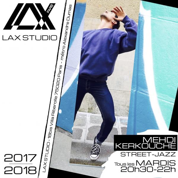 mehdi kerkouche street jazz danse dance paris france lax studio ecole school jo dos santos
