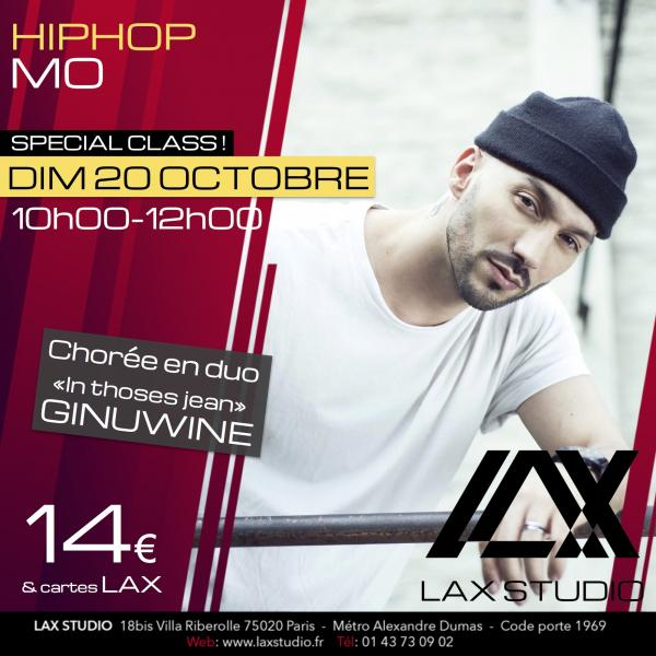 mo saoudi hiphop hip hop cours class paris lax studio laxstudio ecole school