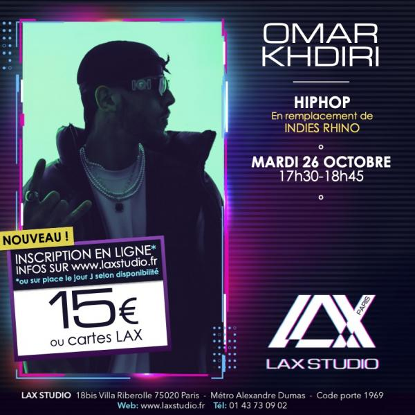 omar khdiri hiphop hip hop paris france lax studio ecole school cours class hiphop dance danse hip hop dancehall