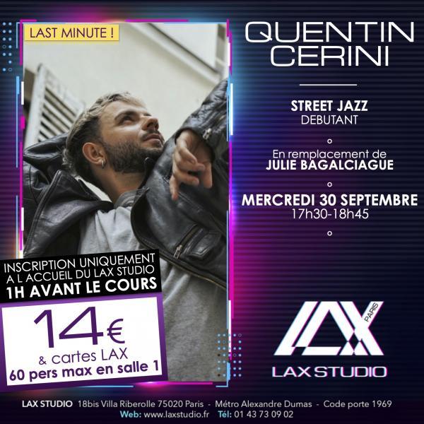 quentin cerini julie bagalciague street jazz LAX STUDIO ECOLE SCHOOL DANSE DANCE PARIS FRANCE COURS CLASS HIPHOP