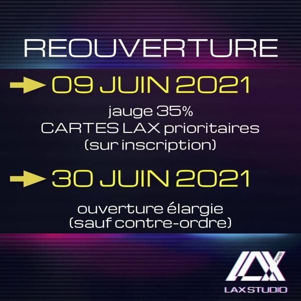 reouverture ouverture LAX STUDIO ECOLE SCHOOL DANSE DANCE PARIS FRANCE COURS CLASS HIPHOP