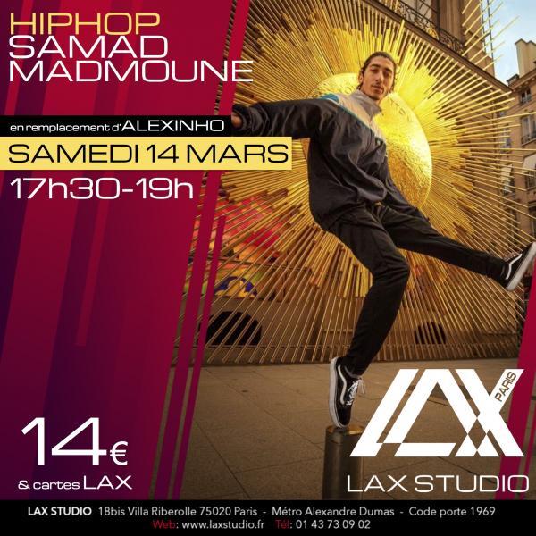 samad paris france lax studio ecole school cours class hiphop dance danse hip hop dancehall