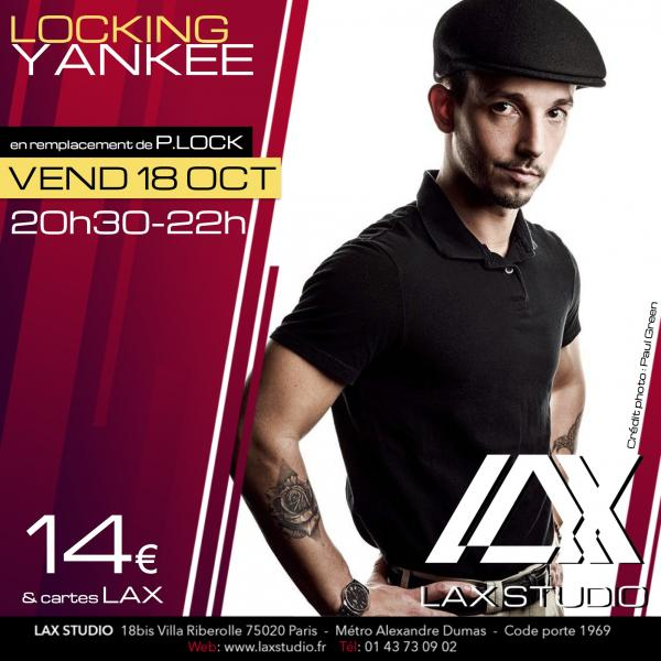 yankee locking plock paris france lax studio ecole school cours class hiphop dance danse hip hop dancehall