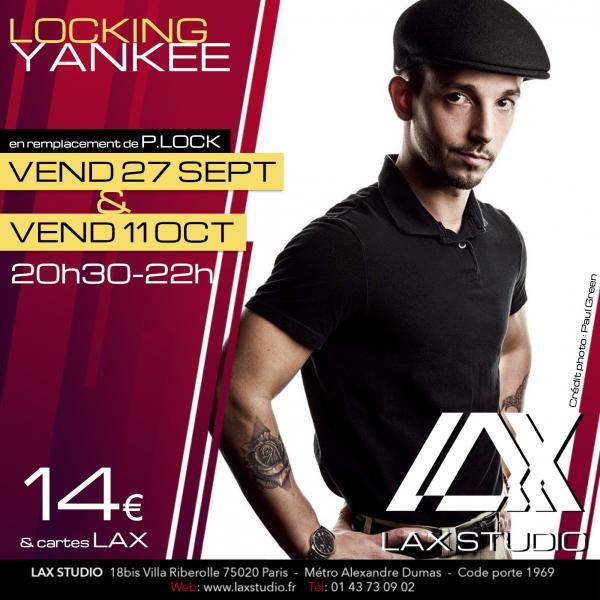 yankee locking plock paris france lax studio ecole school cours class hiphop dance danse hip hop dancehall
