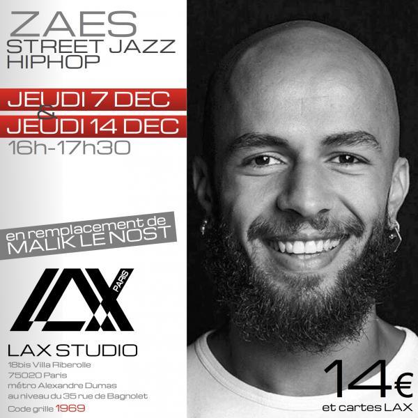 zaes danse dance cours class paris france lax studio ecole school embodiment