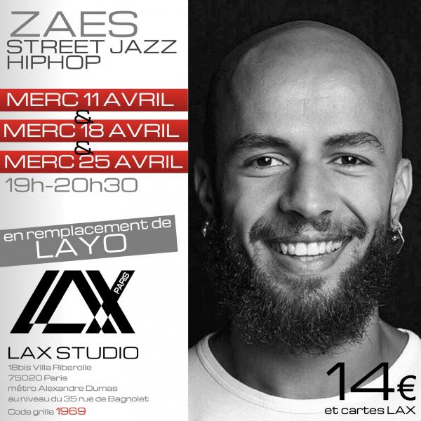 zaes layo danse dance cours class paris france lax studio ecole school embodiment