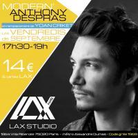 anthony despras modern paris france lax studio ecole school cours class hiphop dance danse hip hop dancehall