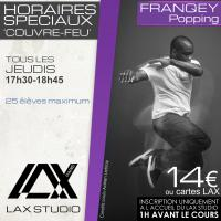 franqey popping hiphop ecole school paris lax studio cours class hip hop danse