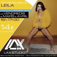 leila medour talons heels LAX STUDIO ECOLE SCHOOL DANSE DANCE PARIS FRANCE COURS CLASS HIPHOP