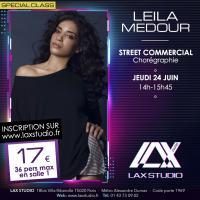 leila medour street commercial LAX STUDIO ECOLE SCHOOL DANSE DANCE PARIS FRANCE COURS CLASS HIPHOP modern