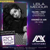 LEILA MEDOUR TALONS HEELS LAX STUDIO ECOLE SCHOOL DANSE DANCE PARIS FRANCE COURS CLASS HIPHOP modern